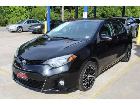 2016 Toyota Corolla for sale at Inline Auto Sales in Fuquay Varina NC