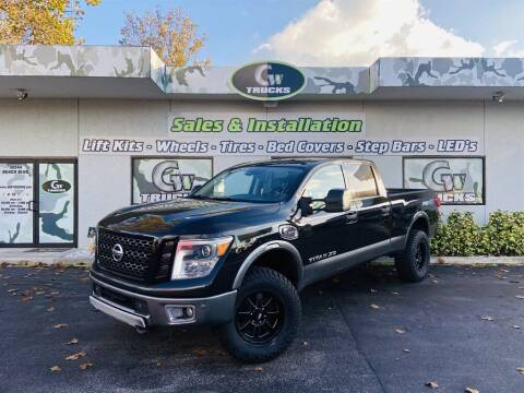 2016 Nissan Titan XD for sale at Greenway Auto Sales in Jacksonville FL
