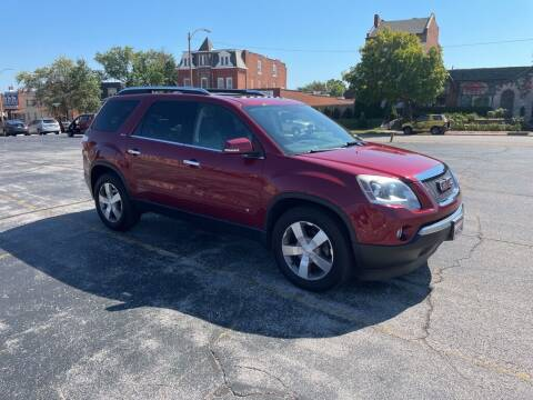2009 GMC Acadia for sale at DC Auto Sales Inc in Saint Louis MO