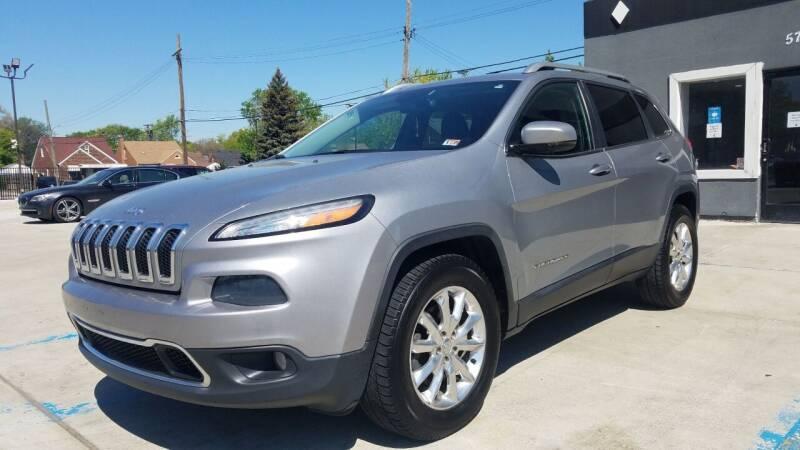 2014 Jeep Cherokee for sale at Julian Auto Sales, Inc. in Warren MI