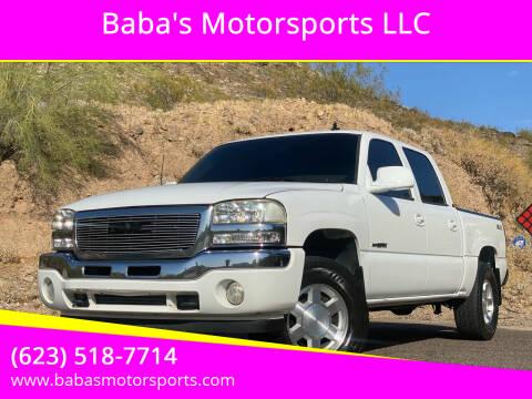 2006 GMC Sierra 1500 for sale at Baba's Motorsports, LLC in Phoenix AZ