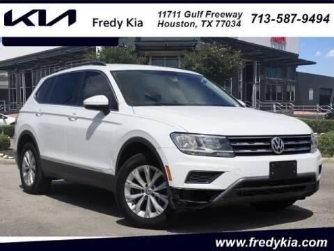2018 Volkswagen Tiguan for sale at FREDY KIA USED CARS in Houston TX
