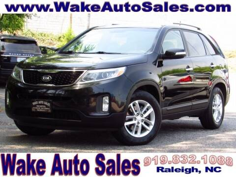 2015 Kia Sorento for sale at Wake Auto Sales Inc in Raleigh NC