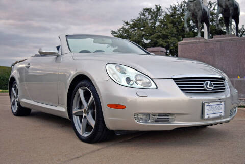 2002 Lexus SC 430 for sale at European Motor Cars LTD in Fort Worth TX
