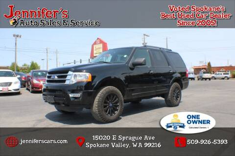 2017 Ford Expedition for sale at Jennifer's Auto Sales in Spokane Valley WA