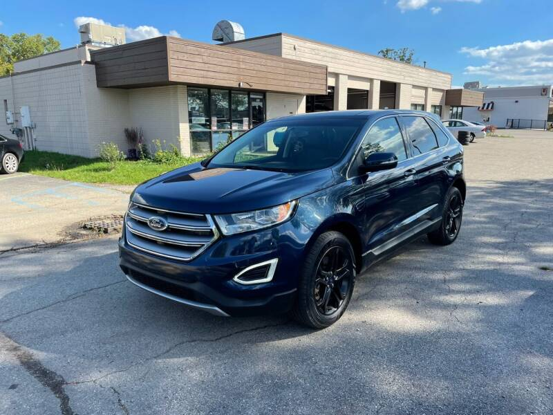 2017 Ford Edge for sale at Dean's Auto Sales in Flint MI