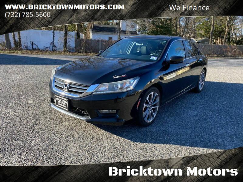 2014 Honda Accord for sale at Bricktown Motors in Brick NJ