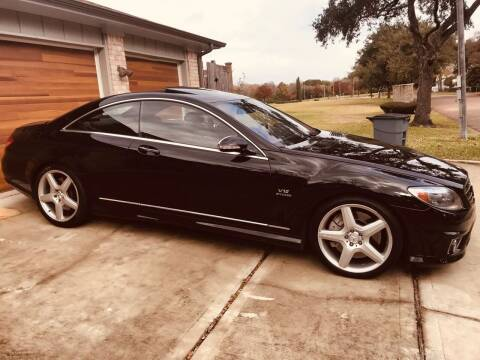2008 Mercedes-Benz CL-Class for sale at Texas Luxury Auto in Houston TX