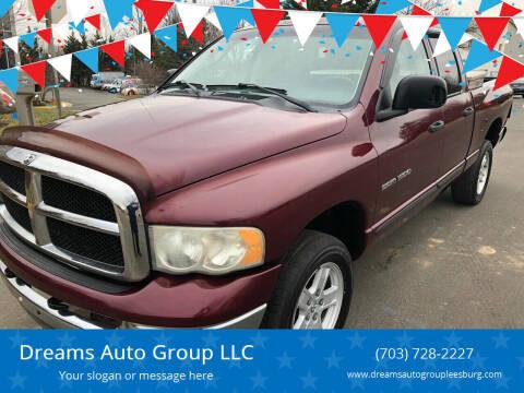 2003 Dodge Ram Pickup 1500 for sale at Dreams Auto Sales LLC in Leesburg VA