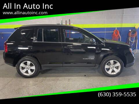 2014 Jeep Compass for sale at All In Auto Inc in Addison IL