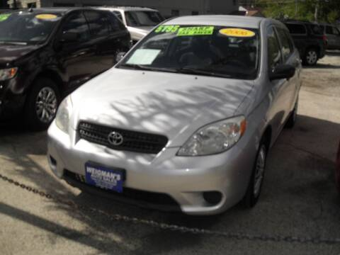 2006 Toyota Matrix for sale at Weigman's Auto Sales in Milwaukee WI
