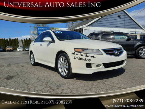 2008 Acura TSX for sale at Universal Auto Sales Inc in Salem OR