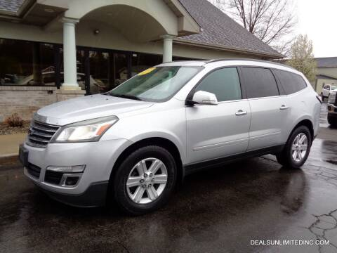 2013 Chevrolet Traverse for sale at DEALS UNLIMITED INC in Portage MI