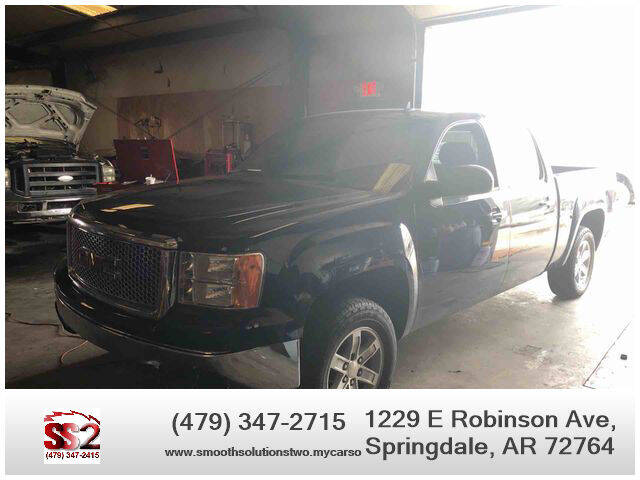 2008 GMC Sierra 1500 for sale at Smooth Solutions 2 LLC in Springdale AR