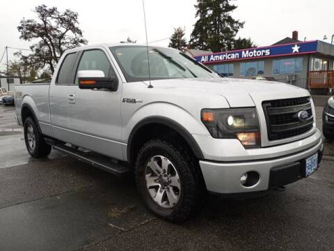 2013 Ford F-150 for sale at All American Motors in Tacoma WA