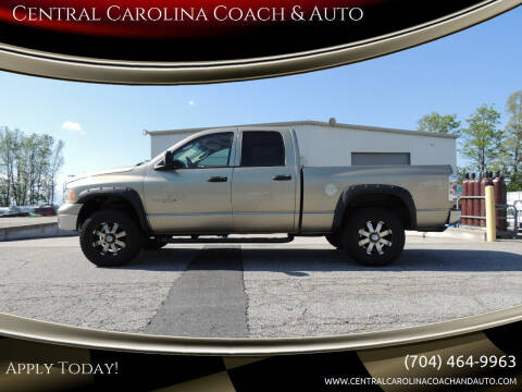 2005 Dodge Ram Pickup 1500 for sale at Central Carolina Coach & Auto in Lenoir NC