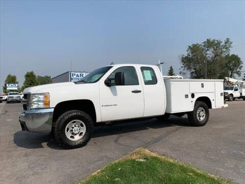 2007 Chevrolet Silverado 2500HD for sale at P & R Auto Sales in Pocatello ID