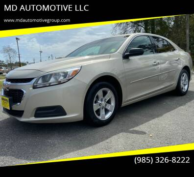 2015 Chevrolet Malibu for sale at MD AUTOMOTIVE LLC in Slidell LA