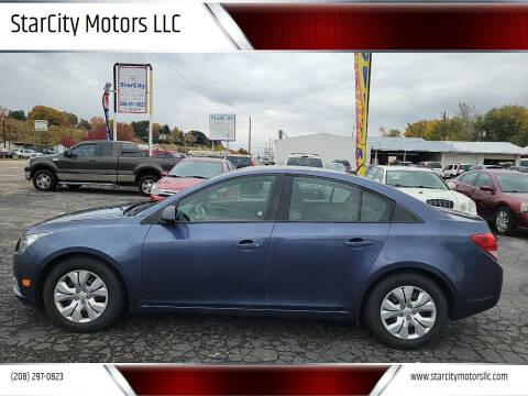 2014 Chevrolet Cruze for sale at StarCity Motors LLC in Garden City ID