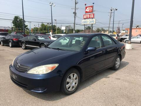 2003 Toyota Camry for sale at 4th Street Auto in Louisville KY