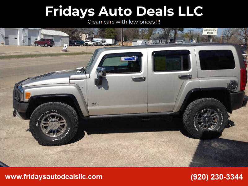 2008 HUMMER H3 for sale at Fridays Auto Deals LLC in Oshkosh WI