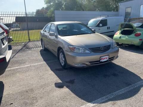 2004 Toyota Camry for sale at JMAC AUTO SALES in Houston TX