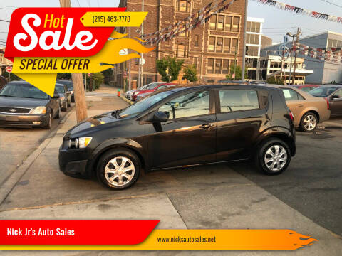 2013 Chevrolet Sonic for sale at Nick Jr's Auto Sales in Philadelphia PA