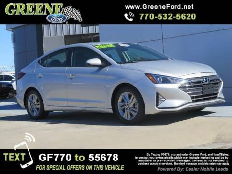 2019 Hyundai Elantra for sale at Nerd Motive, Inc. - NMI in Atlanta GA
