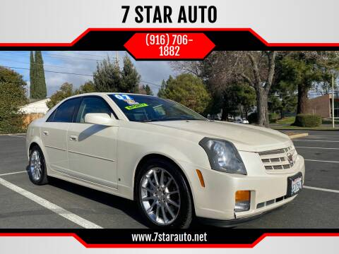 2007 Cadillac CTS for sale at 7 STAR AUTO in Sacramento CA