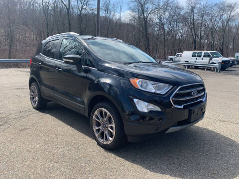 2018 Ford EcoSport for sale at George Strus Motors Inc. in Newfoundland NJ