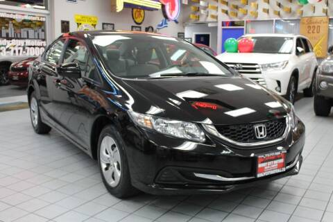 2015 Honda Civic for sale at Windy City Motors in Chicago IL