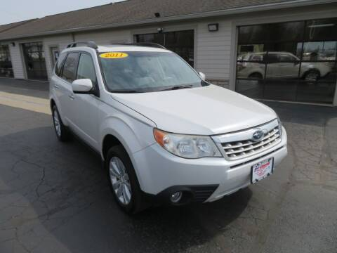 2011 Subaru Forester for sale at Tri-County Pre-Owned Superstore in Reynoldsburg OH