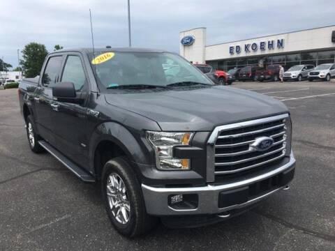2016 Ford F-150 for sale at Ed Koehn Chevrolet in Rockford MI