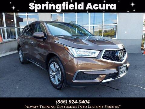 2019 Acura MDX for sale at SPRINGFIELD ACURA in Springfield NJ