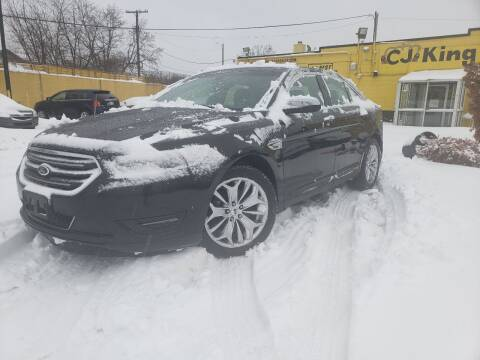 2013 Ford Taurus for sale at Cj king of car loans/JJ's Best Auto Sales in Troy MI