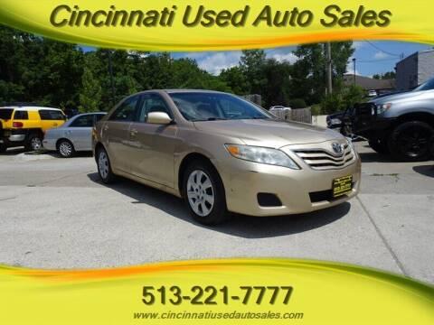 2010 Toyota Camry for sale at Cincinnati Used Auto Sales in Cincinnati OH