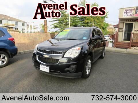 2011 Chevrolet Equinox for sale at Avenel Auto Sales in Avenel NJ