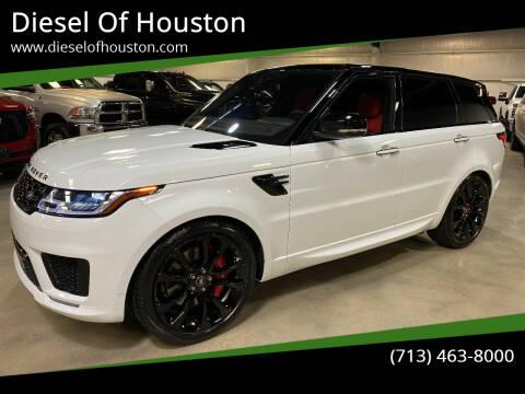 2021 Land Rover Range Rover Sport for sale at Diesel Of Houston in Houston TX