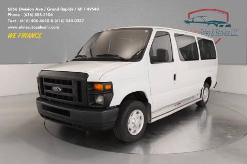 2009 Ford E-Series Wagon for sale at Elvis Auto Sales LLC in Grand Rapids MI