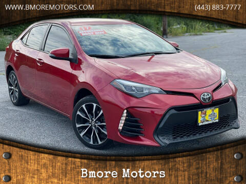 2017 Toyota Corolla for sale at Bmore Motors in Baltimore MD