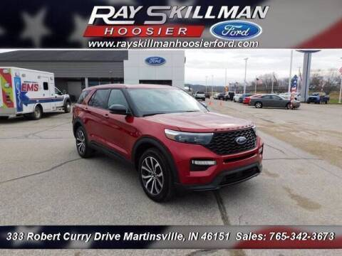 2021 Ford Explorer for sale at Ray Skillman Hoosier Ford in Martinsville IN