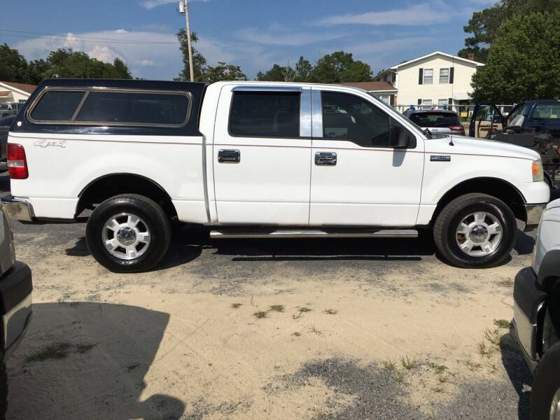 2005 Ford F-150 for sale at M&M Auto Sales 2 in Hartsville SC