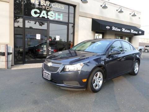2014 Chevrolet Cruze for sale at Wilson-Maturo Motors in New Haven Ct CT