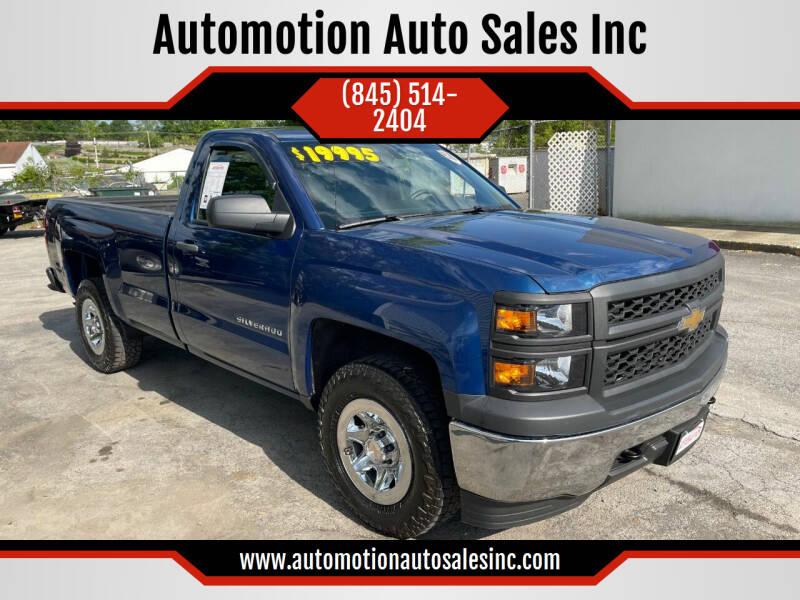2015 Chevrolet Silverado 1500 for sale at Automotion Auto Sales Inc in Kingston NY