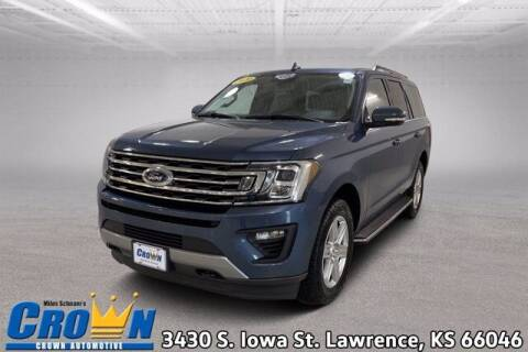 2020 Ford Expedition for sale at Crown Automotive of Lawrence Kansas in Lawrence KS
