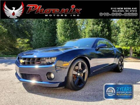 2010 Chevrolet Camaro for sale at Phoenix Motors Inc in Raleigh NC