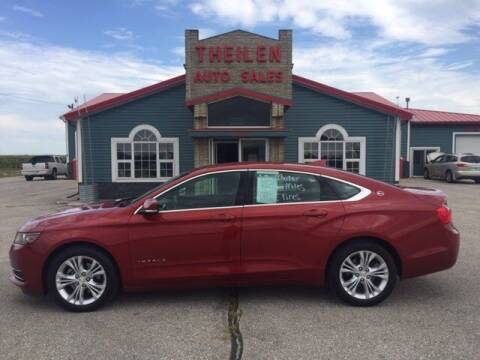 2015 Chevrolet Impala for sale at THEILEN AUTO SALES in Clear Lake IA