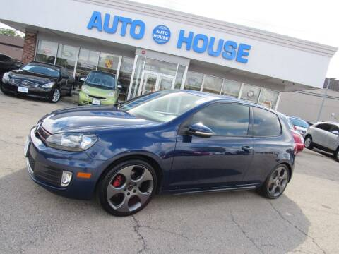2010 Volkswagen GTI for sale at Auto House Motors in Downers Grove IL