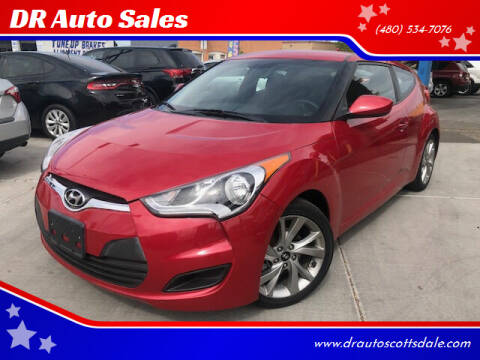2016 Hyundai Veloster for sale at DR Auto Sales in Scottsdale AZ