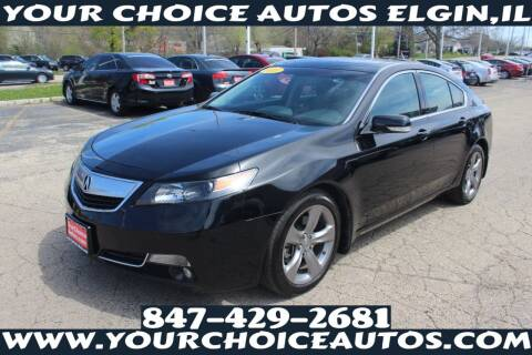 2013 Acura TL for sale at Your Choice Autos - Elgin in Elgin IL
